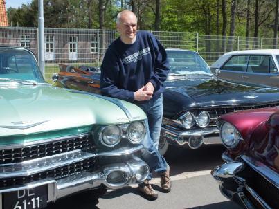 Der Vorsitzende der Fördervereins ELB e.V., Paul Hicks, freute sich über eine tollen Event am Luftbrückenmuseum. Foto: privat