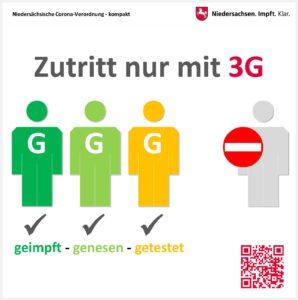 Zutritt nur mit 3G